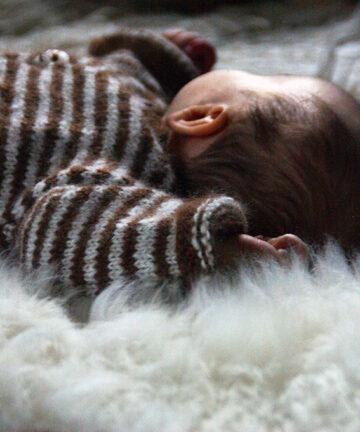 Peau d'agneau lainée bio éthique