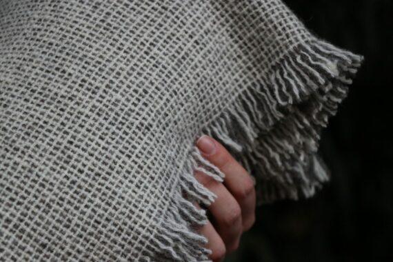 plaid qualité tisse main laine française