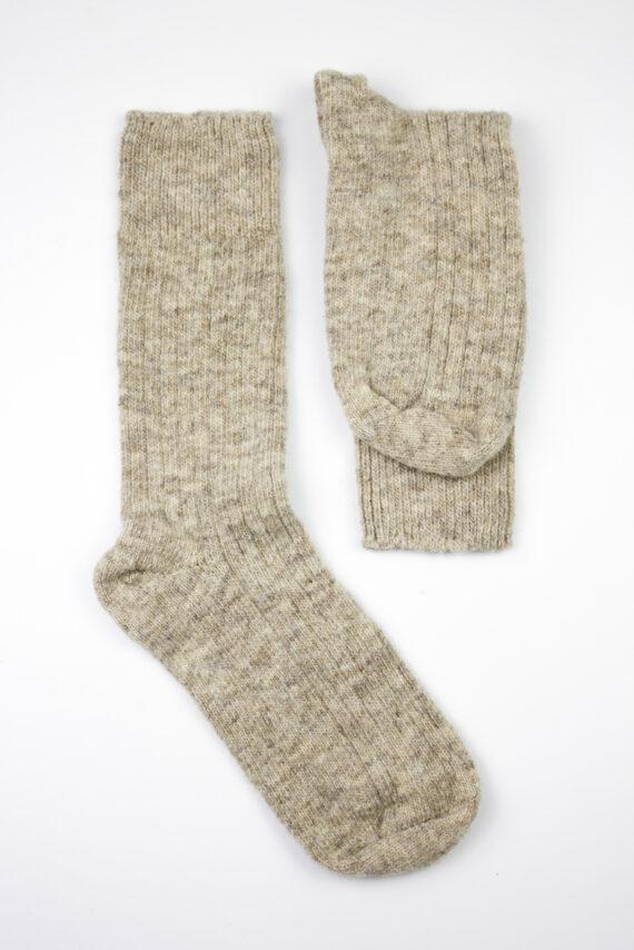 Chaussettes artisanales pure laine française