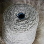 Fil à tricoter laine française cône