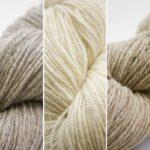 Fil à tricoter 100% laine éthique