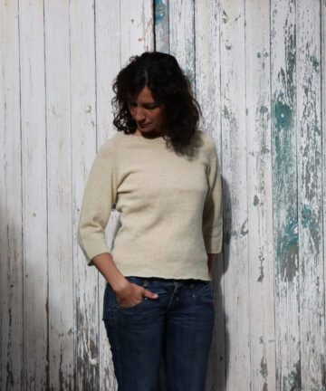 pull femme pure laine mi saison made in france
