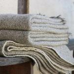 Plaids tissés main pure laine Française