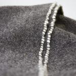 Plaid artisanal pure laine française
