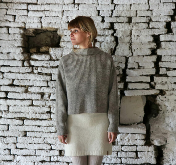 Pull femme pure laine Made in France