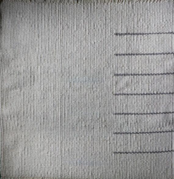 Tapis design pure laine locale tissé main