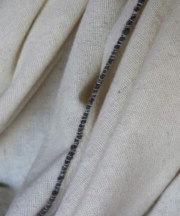 Châle pure laine mérinos d'origine france