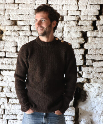 Pull homme pure laine Made in France
