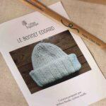 Bonnet pure laine bio à tricoter