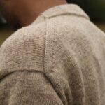Détail cardigan pure laine