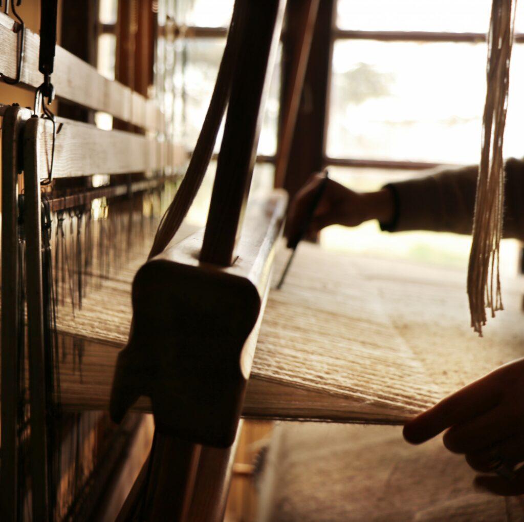 Machine à tisser tapis France