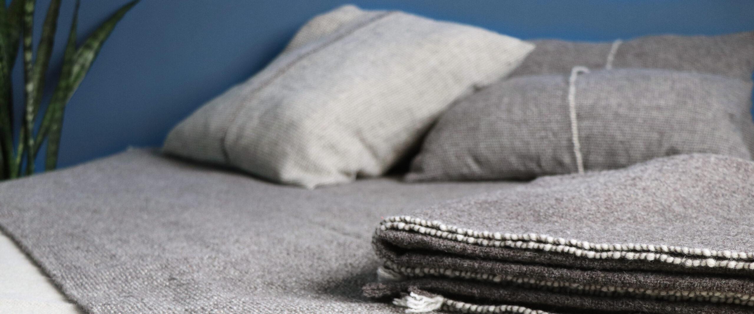 Literie décoration laine française