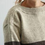 Pull pure laine française femme