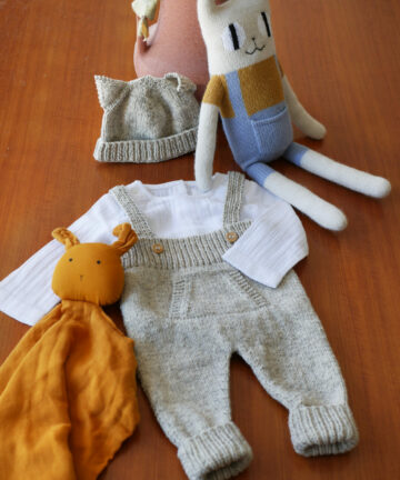 Kit tricot bébé pure laine française
