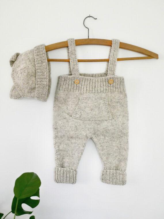 Kit bebe à tricoter pure laine