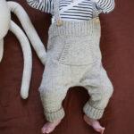 Kit bébé à tricoter pure laine