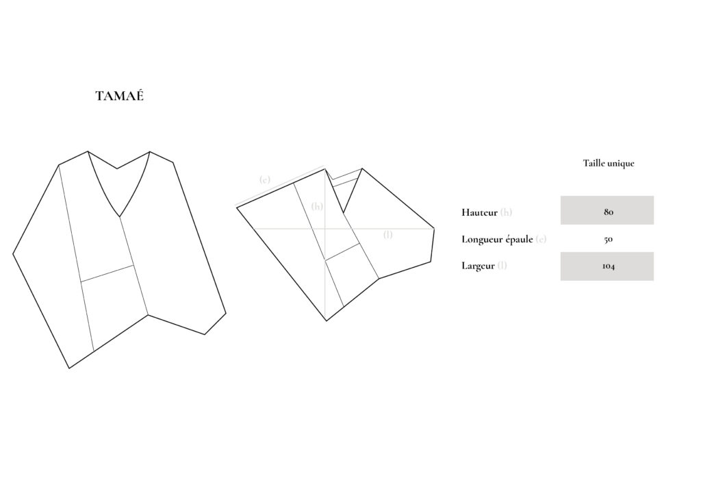 Guide des tailles TAMAE