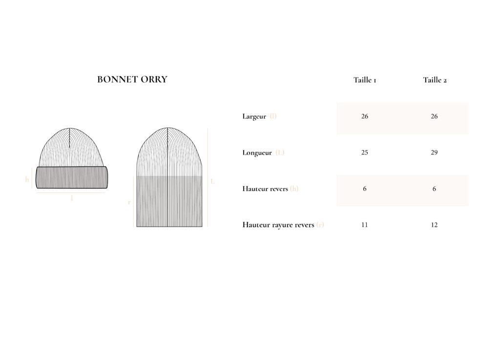 Bonnet ORRY