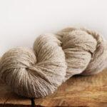 fil à tricoter grège 2fils