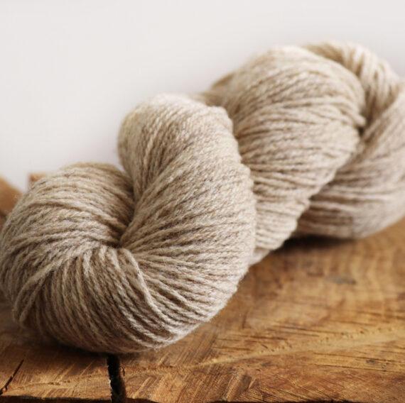 fil à tricoter grège 3 fils