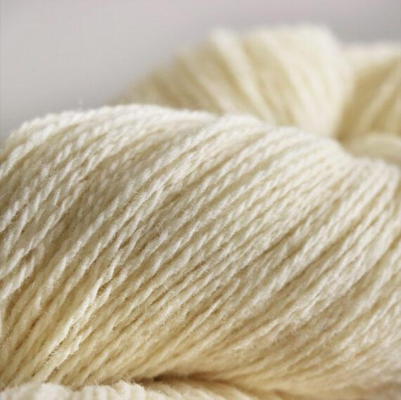 fil à tricoter écru_2fils zomm
