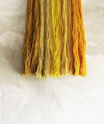 fil déclinaison jaunes